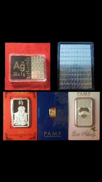 Imagen Lote variado oro , plata , meteoritos