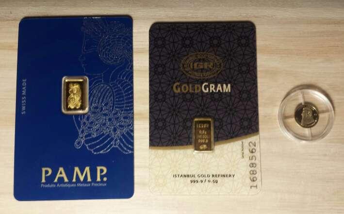 Imagen producto Plata 999 y oro 999 24 k económico  5