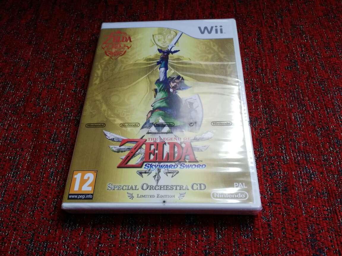 Imagen Zelda skyward sword, precintado