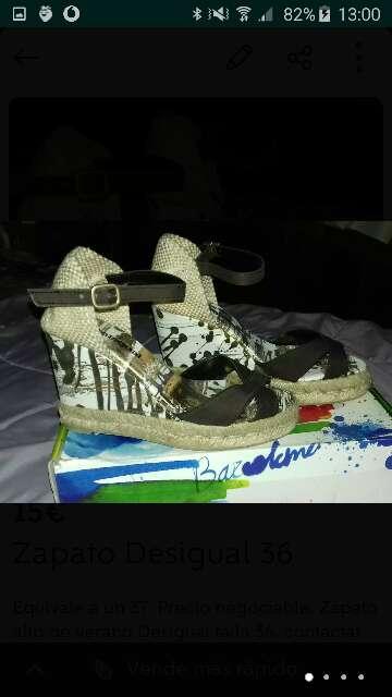 Imagen producto Zapato de verano Desigual 36/37 4
