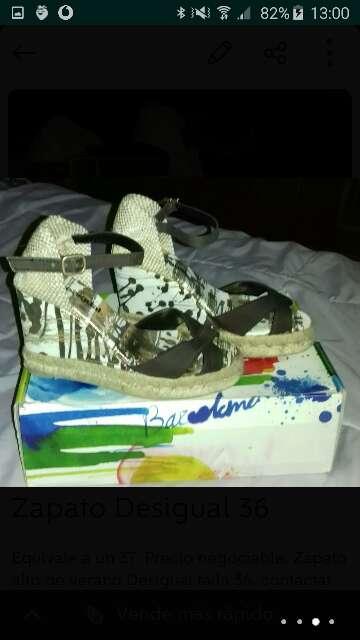 Imagen producto Zapato de verano Desigual 36/37 2