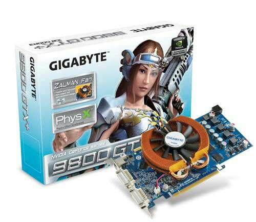 Imagen Tarjeta gráfica NVIDIA 9800 GTX PLUS