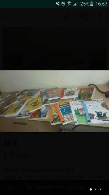 Imagen  lote Libros