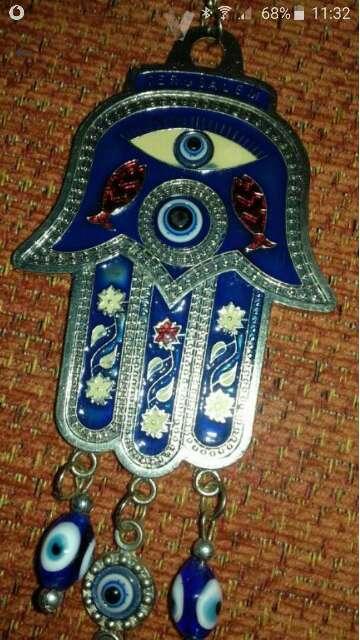 Imagen producto Adorno decorativo con ojo turco 6