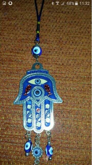 Imagen producto Adorno decorativo con ojo turco 5