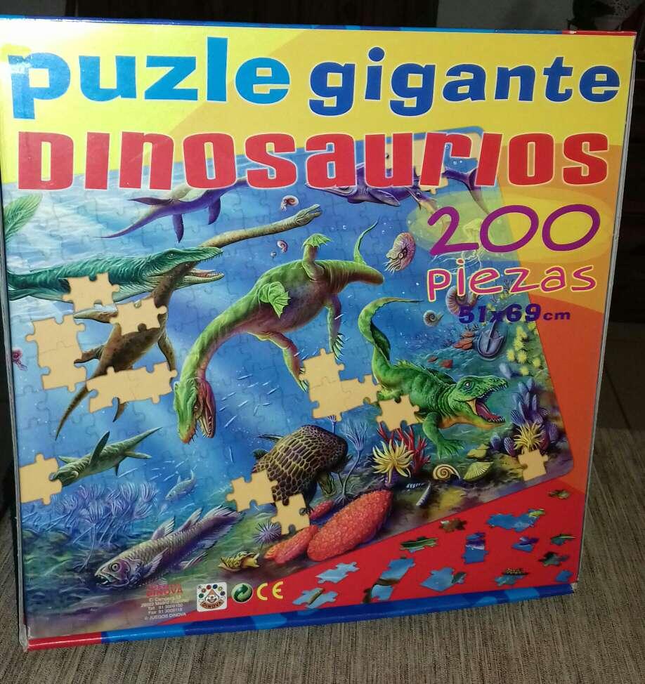 Imagen producto Puzle de dinosaurios  4