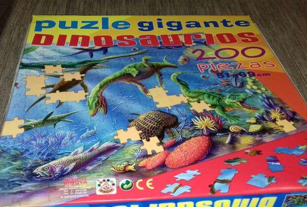 Imagen producto Puzle de dinosaurios  2