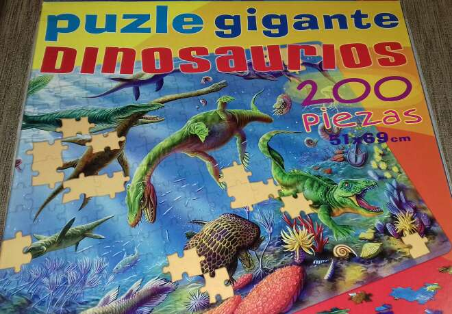 Imagen Puzle de dinosaurios