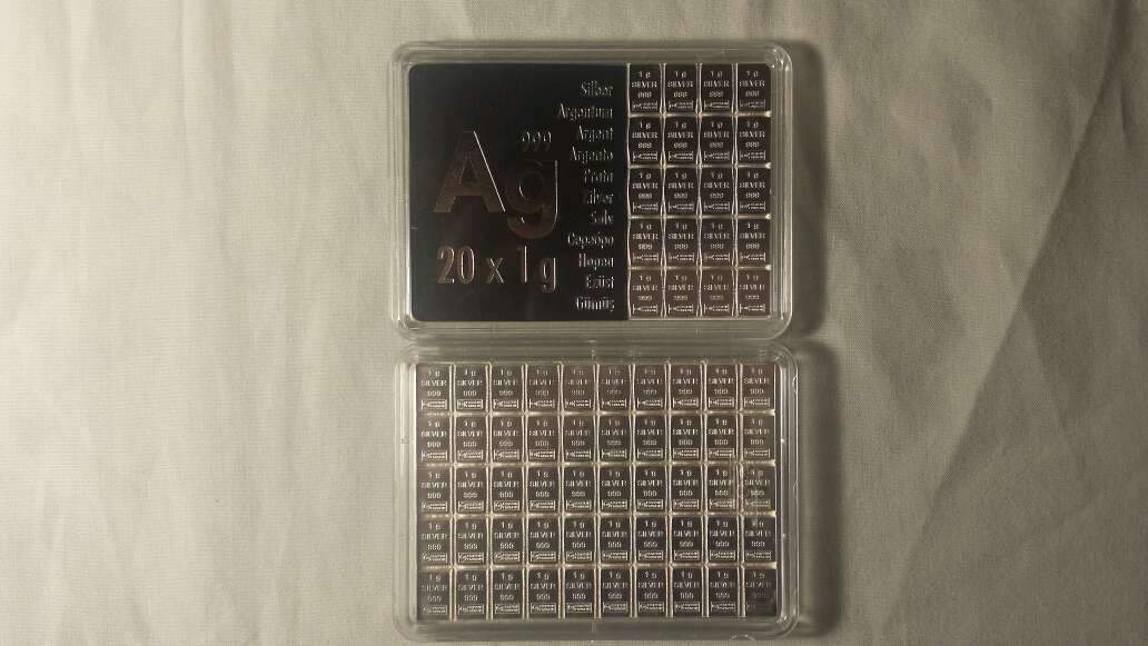Imagen producto 70 gramos de plata pura 999  2