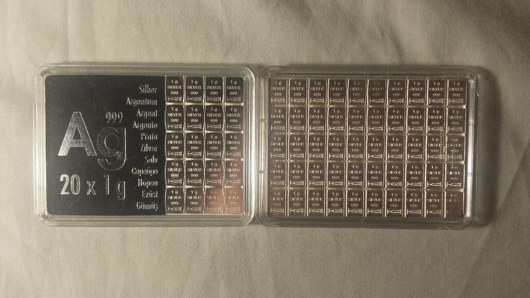Imagen 70 gramos de plata pura 999
