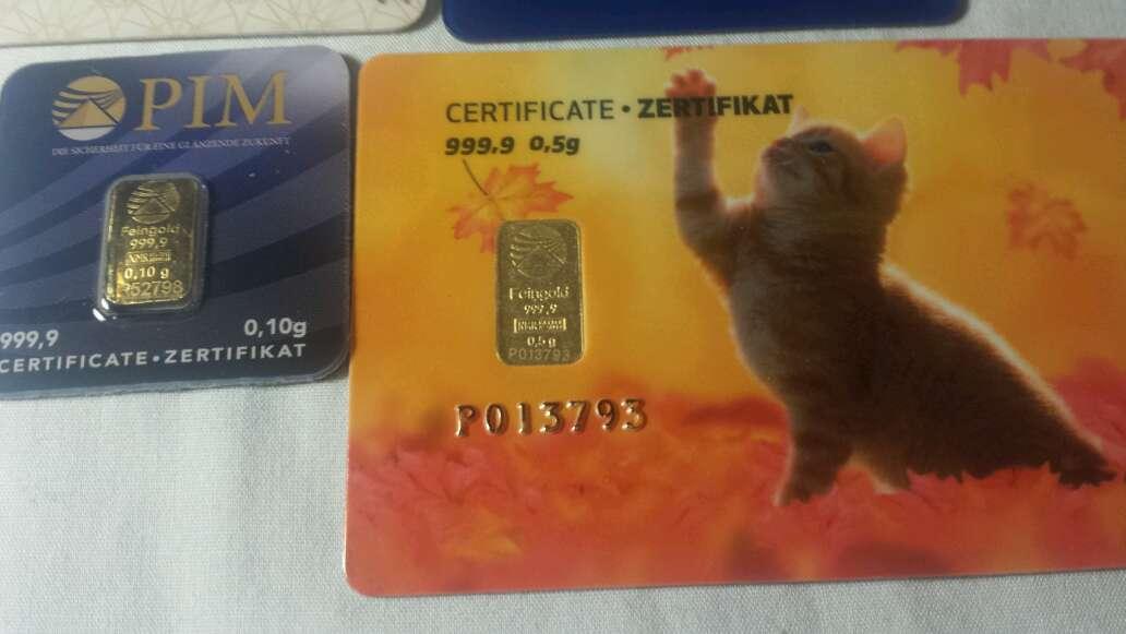 Imagen producto 2,10 gramos de oro puro 999  3