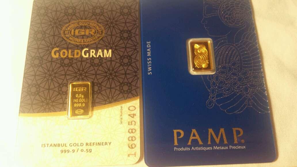 Imagen producto 2,10 gramos de oro puro 999  2