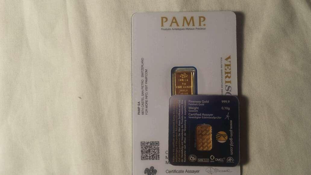 Imagen producto 1,10 gramos de oro puro 999  2