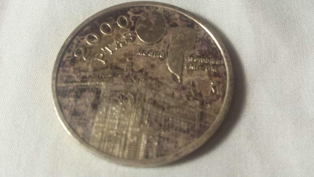 Imagen producto Moneda de 2000 ptas de plata  3