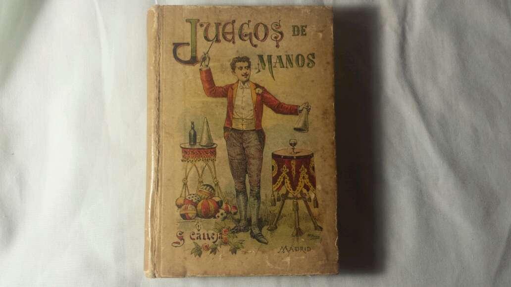 Imagen Libro juegos de manos 1876 con error