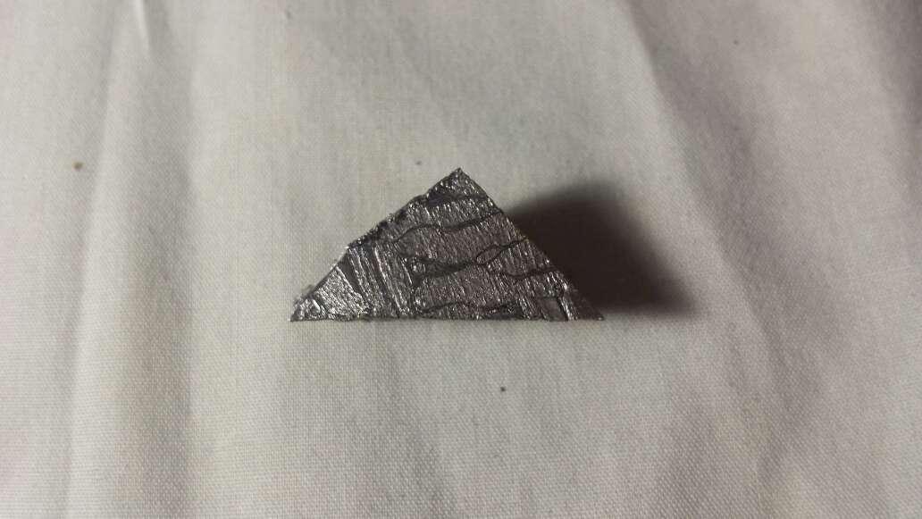 Imagen pequeño fracmento de meteorito Seymchan