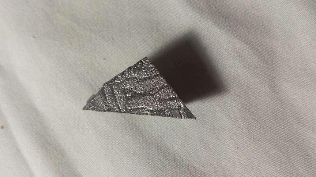Imagen producto Pequeño fracmento de meteorito Seymchan  2