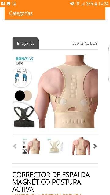 Imagen Corrector de espalda de postura