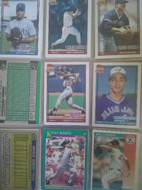 Imagen cartas de beisboll