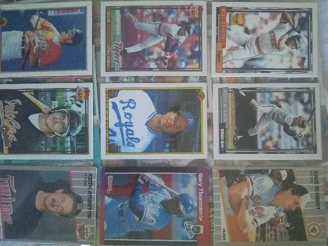 Imagen producto Cartas de beisboll 2