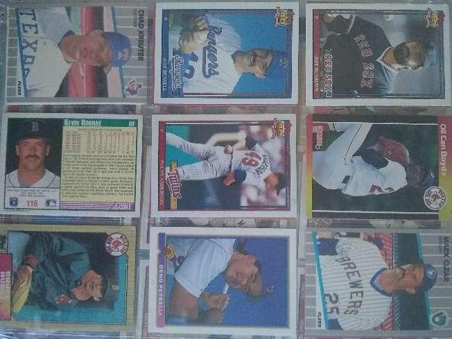 Imagen producto Cartas de beisboll 3
