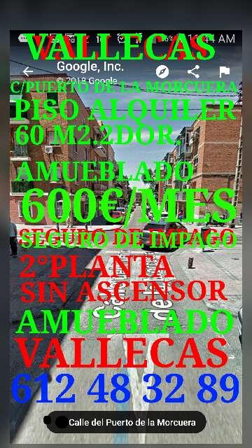 Imagen producto Vallecas C/Puerto De la Morcuera piso en alquiler 600€ 10
