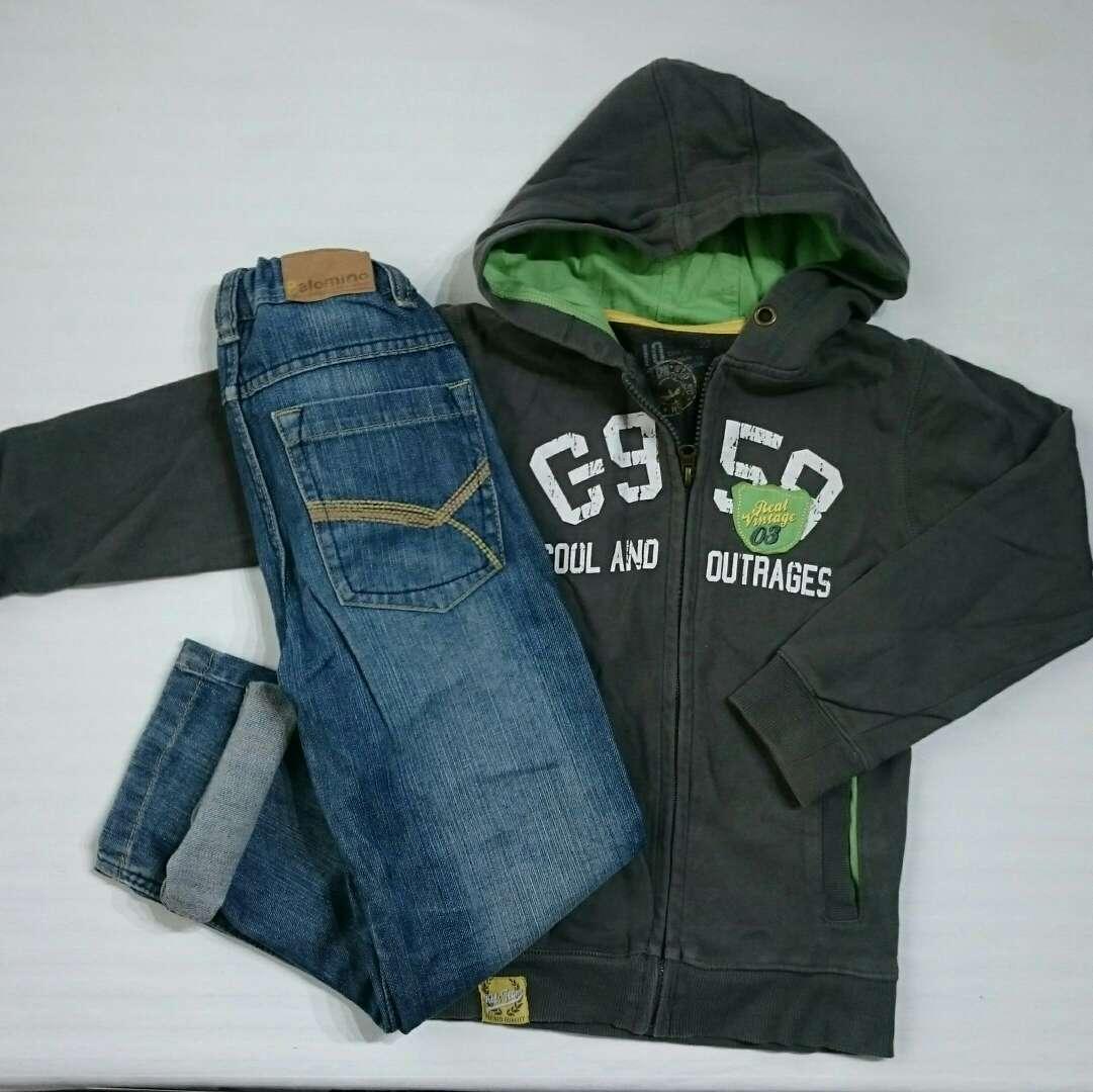 Imagen Pack Niño Vaqueros y chaqueta