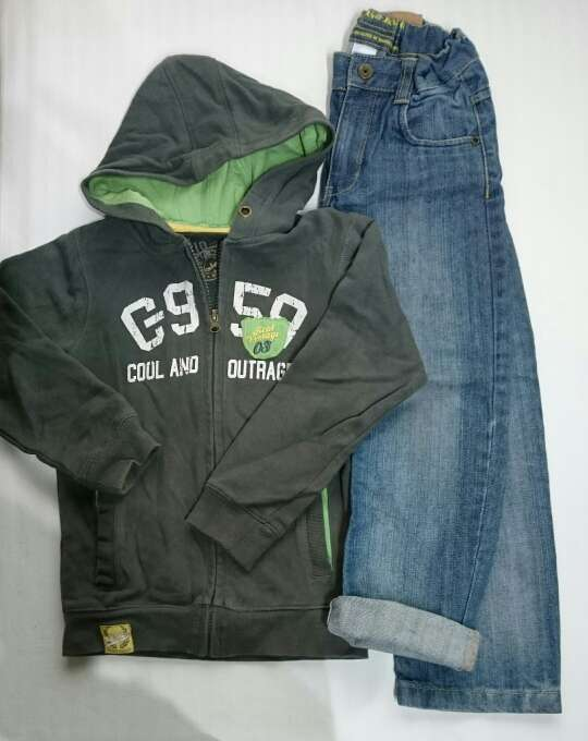 Imagen producto Pack Niño Vaqueros y chaqueta  4