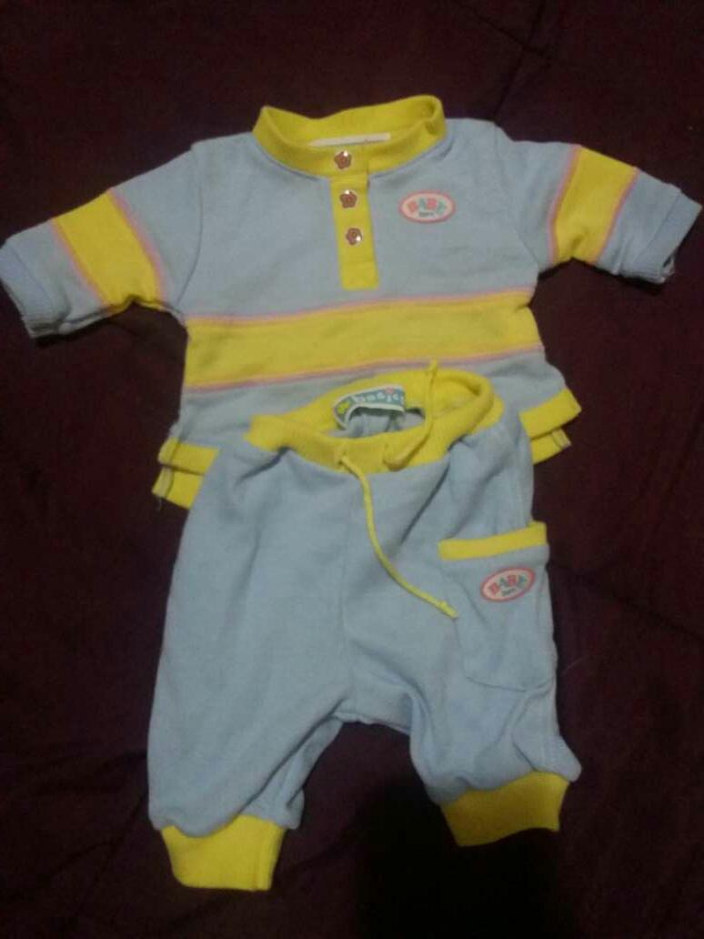 Imagen conjunto  baby born