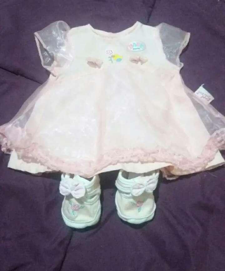 Imagen vestido baby born