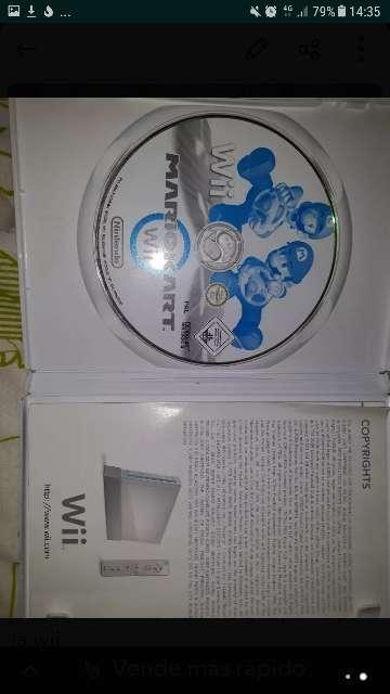 Imagen producto Wii con Mario Kart y todos los accesorios  2