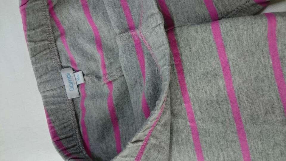 Imagen producto Mallas niña gris rosa  2
