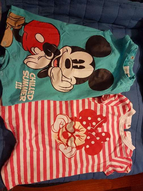 Imagen producto Pijamas disney talla 9 meses 1