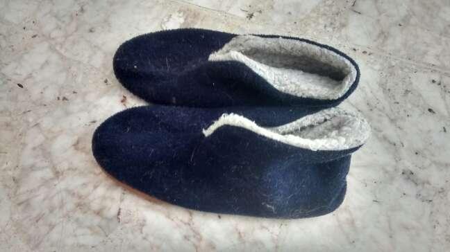 Imagen pantuflas para caballero