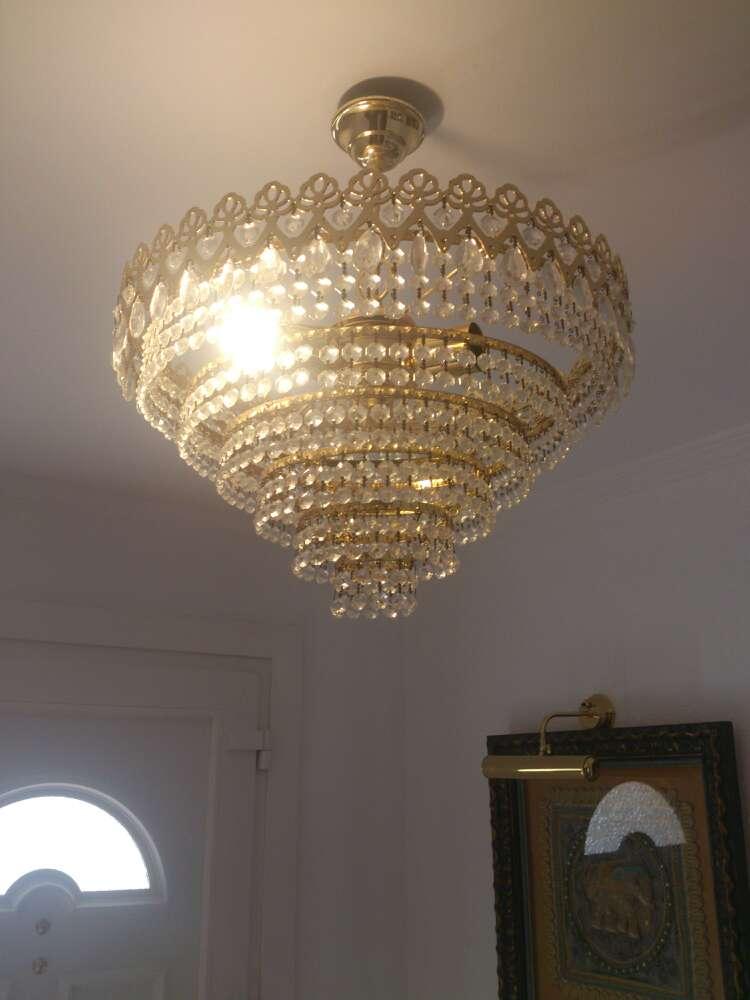 Imagen lampara de metal