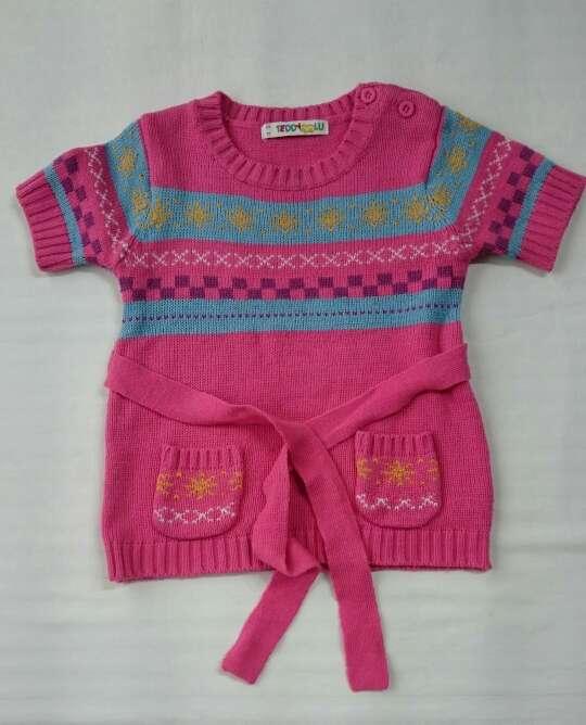 Imagen NUEVO vestido punto rosa