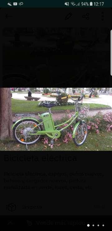 Imagen Bicicleta electrica