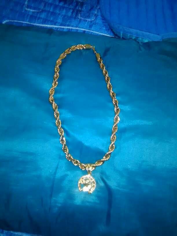 Imagen producto Oro golfi es un material que nunca se pone negro nunca cambia el color 7