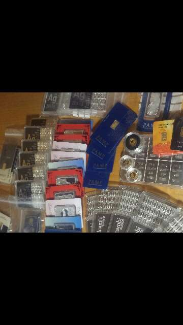 Imagen producto Gran variedad de oro 999 y plata 999 2