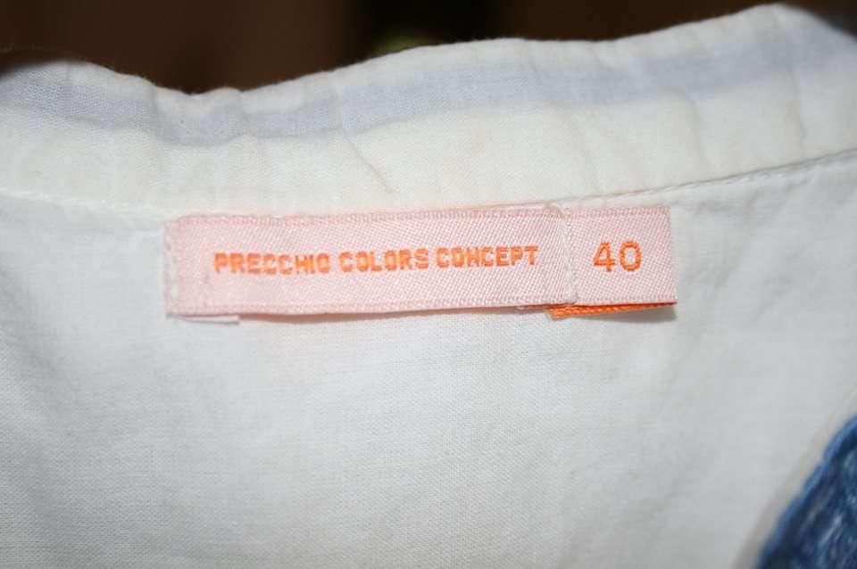 Imagen producto Blusa blanca con bordado azul 3