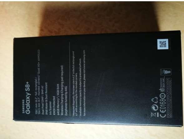 Imagen Samsung 8 plus