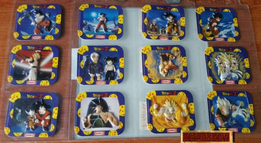 Imagen Dragon ball colección completa relieves panrico