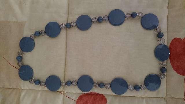 Imagen Collar largo azul