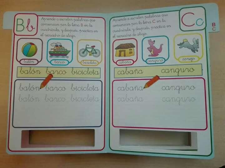 Imagen producto Libro pizarra, aprende el abecedario 2