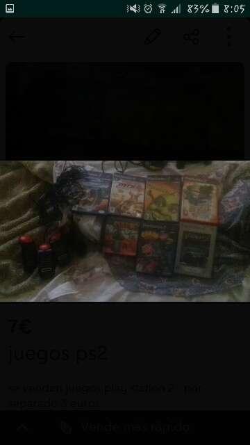 Imagen juegos  play  station  2