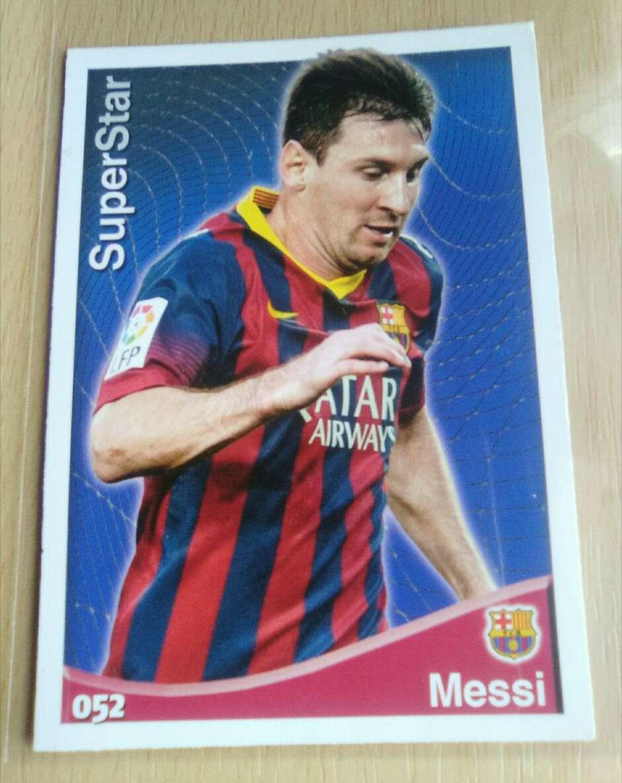 Imagen Cromo de Messi nuevo