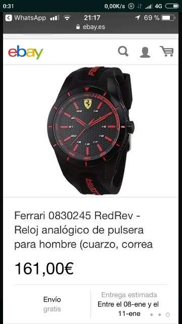Imagen reloj Ferrari
