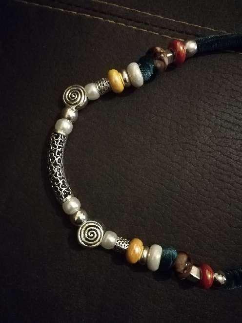 Imagen producto Collar con motivos florales.  4