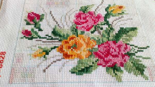 Imagen Cuadro de ramo de flores