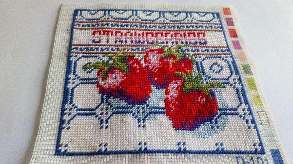 Imagen Cuadro de fresas